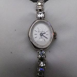 Crawford vintage rhinestone watch